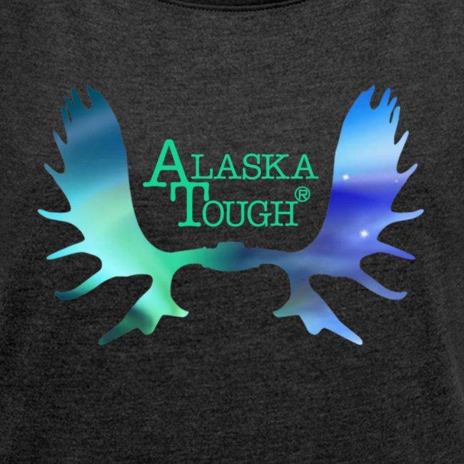 Aurora Northern Lights T-Shirt for Women