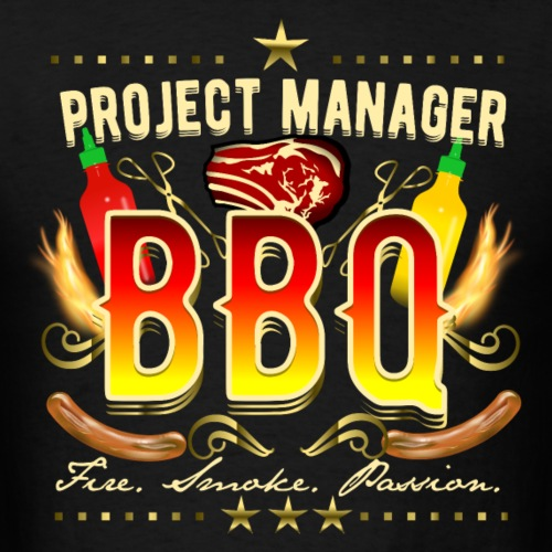 Grill T-Shirt Project Manager BBQ