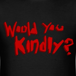 Would You Kindly? (No Ryan Logo) - Men's T-Shirt