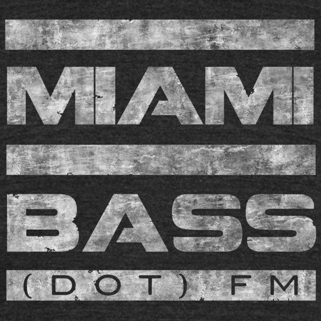 Miami Bass Vintage Tee-Black