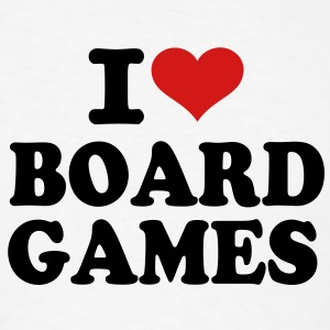 I love Board Games T-Shirts - Men's T-Shirt
