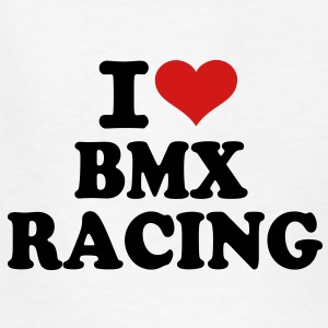 I love Bmx Racing Kids' Shirts - Kids' T-Shirt