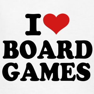 I love Board Games Kids' Shirts - Kids' T-Shirt