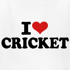 I love Cricket Kids' Shirts - Kids' T-Shirt