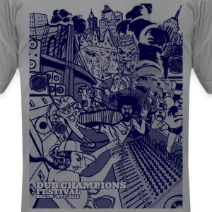 Dub Champions Festival NYC T-Shirts - Men's T-Shirt by American Apparel