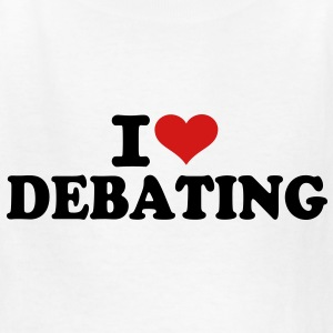 I love Debating Kids' Shirts - Kids' T-Shirt