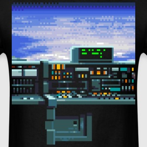 Spaceship - Men's T-Shirt