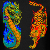 Design ~ Dragon vs Tiger