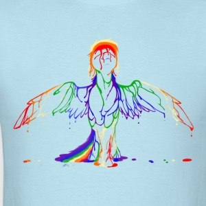 Rainbow splash - Men's T-Shirt