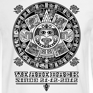 Maya - We are back since 2012 (black) Long Sleeve Shirts - Men's Long Sleeve T-Shirt