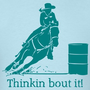 barrel racing  - Men's T-Shirt