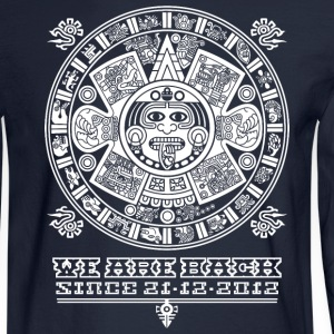 Maya - We are back since 2012 (white) Long Sleeve Shirts - Men's Long Sleeve T-Shirt