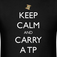 Design ~ Keep Calm and Carry a TP