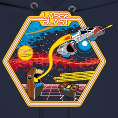 LaserBlast (for darkshirts) Hoodies