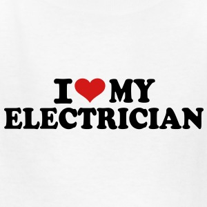 I love my Electrician Kids' Shirts - Kids' T-Shirt