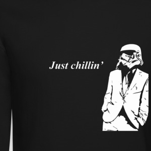 Stormtrooper chillin' Long Sleeve Shirts - Crewneck Sweatshirt
