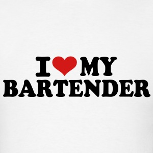 I love My Bartender T-Shirts - Men's T-Shirt