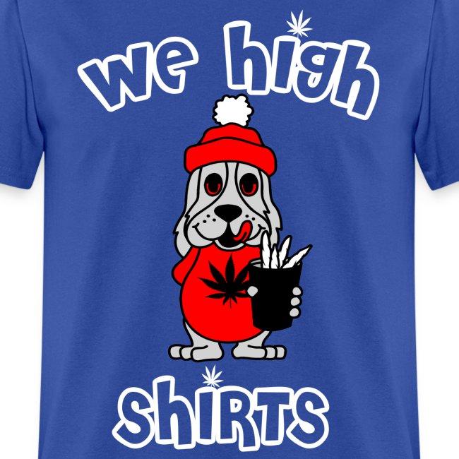 We High Shirts Slush Puppy Logo