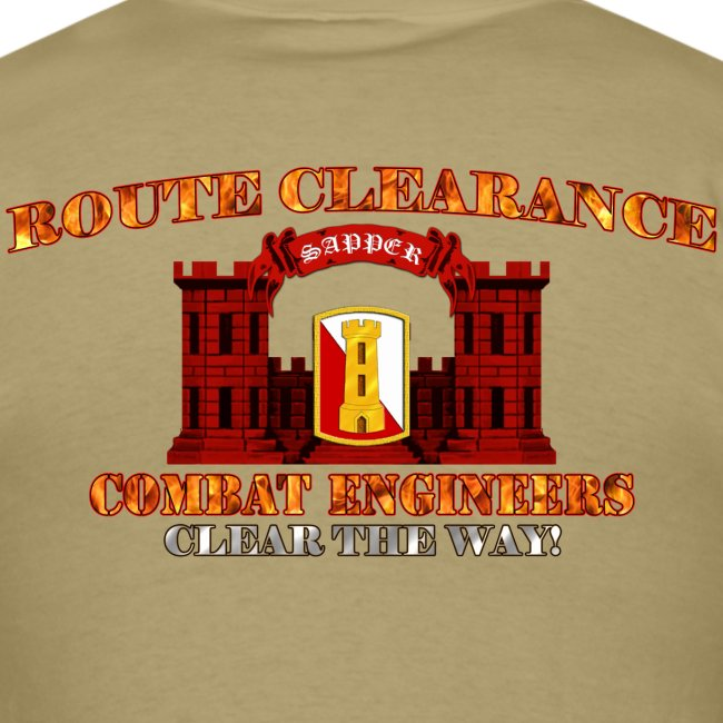 168th En Bde - RC Sapper Back Only