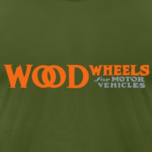 wood T-Shirts - Men's T-Shirt by American Apparel