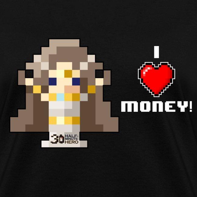 Time Goddess - I (HEART) Money! Women's T-shirt