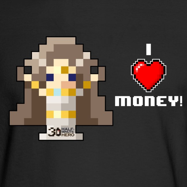 Time Goddess - I (HEART) Money! Men's Long Sleeve T-shirt
