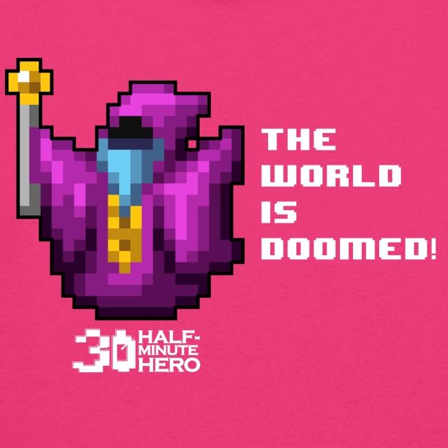 """The World is Doomed!"" Women's hoodie"