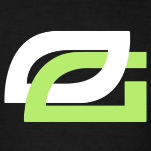 OpTic Gaming Logo White o - Men's T-Shirt