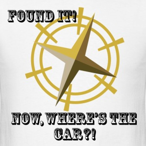 Where's The Car? - Men's T-Shirt