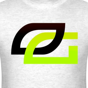 OpTic Gaming Logo Black o - Men's T-Shirt