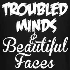 """Troubled Minds"" Unisex Pullover"
