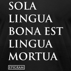 Sola Lingua Men's T-shirt