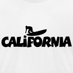California Surf T-Shirt - Men's T-Shirt by American Apparel