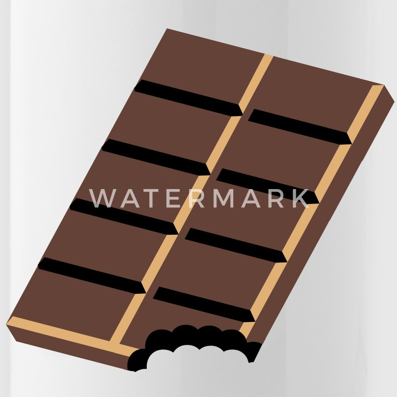 A chocolate bar Accessories - Water Bottle