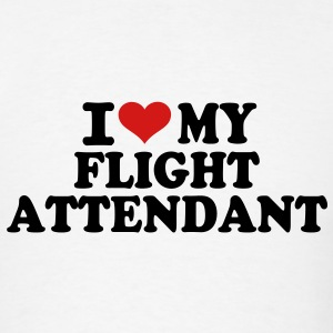 I love my Flight Attendant T-Shirts - Men's T-Shirt