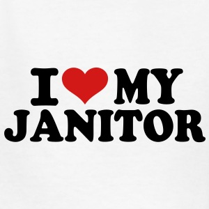 I love my Janitor Kids' Shirts - Kids' T-Shirt