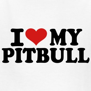 I love my Pitbull Kids' Shirts - Kids' T-Shirt