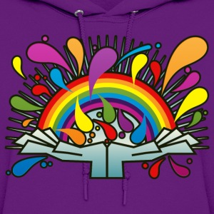 Rainbow_In_Your_Hands - Women's Hoodie