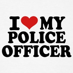 I love my Police Officer T-Shirts