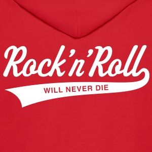 Rock 'n' Roll will never die Hoodies - Men's Hoodie