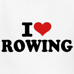 I love Rowing Kids' Shirts - Kids' T-Shirt