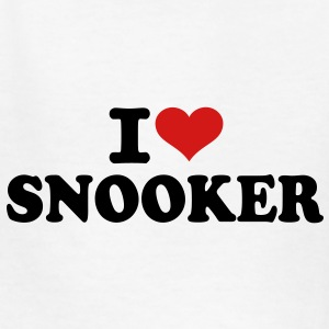 I love Snooker Kids' Shirts - Kids' T-Shirt