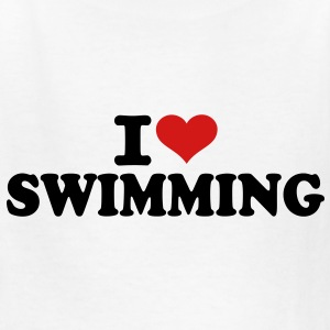 I love Swimming Kids' Shirts - Kids' T-Shirt