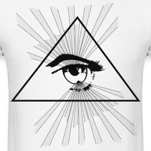 Eye of the illuminati - Men's T-Shirt
