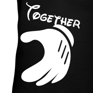 together - Women's V-Neck T-Shirt