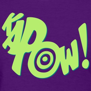 kapow - Women's T-Shirt