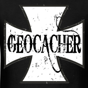 Iron Cross Geocacher - Men's T-Shirt