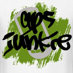 GPS Junkie Geocaching T-shirt - Men's T-Shirt