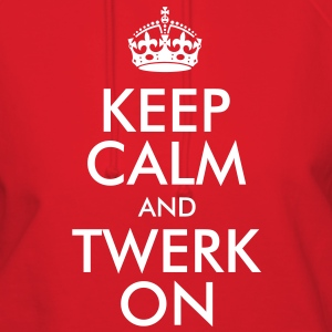 Keep Calm and Twerk On Hoodies - Women's Hoodie
