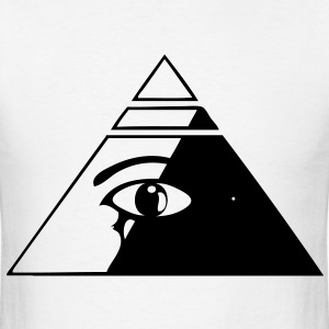 Pyramid eye - Men's T-Shirt